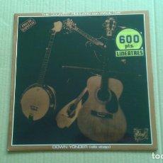 Discos de vinilo: THE COUNTRY FIDDLERS CON WADE RAY - DOWN YONDER LP 1980 EDICION ESPAÑOLA. Lote 257330300