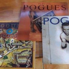 Discos de vinilo: CINCO ELEPÉS DE THE POGUES EN VINILO. Lote 257330970