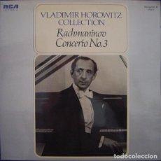Discos de vinilo: RACHMANINOV VLADIMIR HOROWITZ – VLADIMIR HOROWITZ COLLECTION VOLUME 4 • CONCERTO NO. 3. Lote 257333295