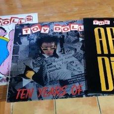Discos de vinilo: CINCO ELEPÉS DE THE TOY DOLLS EN VINILO. Lote 257335065
