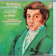Discos de vinilo: LP. OVERTYRES. ROSSINI. OTELLO. Lote 257335355