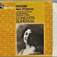 Discos de vinilo: LP. CONCHITA SUPERVIA. AIRS D'OPERAS. ROSSINI. Lote 257335500