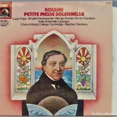 Discos de vinilo: LP. PETITE MESSE SOLENNELLE. ROSSINI. Lote 257335610