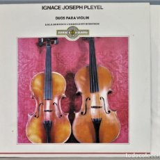 Discos de vinilo: LP. DUOS PARA VIOLIN. IGNACE JOSEPH PLEYEL. Lote 257335765