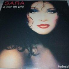 Discos de vinilo: SARA MONTIEL-A FLOR DE PIEL-TEMAS DE SABINA, CARLOS BERLANGA, ETC-RARO. Lote 257336060