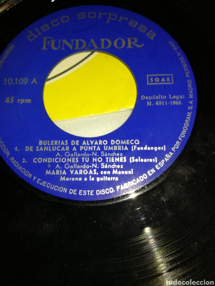 Discos de vinilo: LOTE DISCOS AÑOS 60 Y 70, VARIOS ESTILOS, FLAMENCO, MÓNICA BUSCH, LOS PAYOS, MINA ETC.. - Foto 3 - 257337930