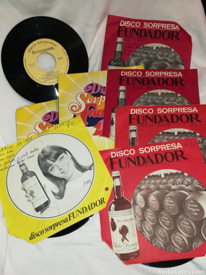 LOTE DISCOS AÑOS 60 Y 70, VARIOS ESTILOS, FLAMENCO, MÓNICA BUSCH, LOS PAYOS, MINA ETC.. (Música - Discos de Vinilo - Maxi Singles - Otros estilos)