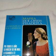 Discos de vinilo: DISCO VINILO MARIA DOLORES PRADERA, 1980,ZAFIRO. Lote 257338350