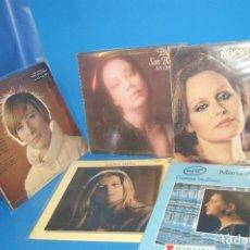 Discos de vinilo: LOTE 5 VINILOS LPS DISCOS SOLO ELLAS-ROCIO DURCAL-P. SAN BASILIO-M.OSTIZ-DEL MONTE. Lote 257359115