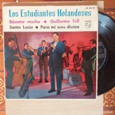Discos de vinilo: EP. LOS ESTUDIANTES HOLANDESES. PHILIPS.. Lote 257387850