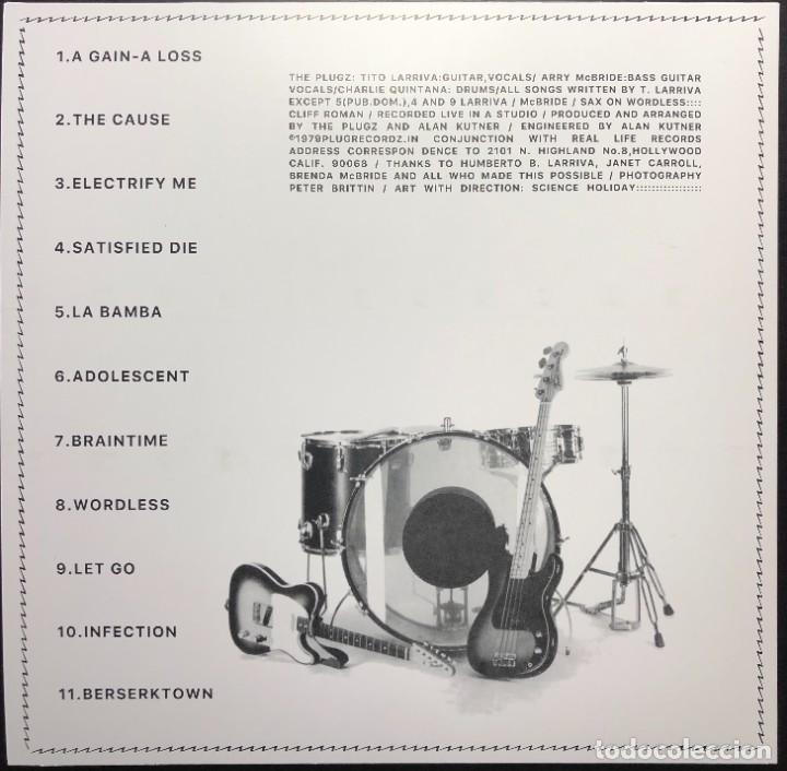 Discos de vinilo: The Plugz Electrify Me PL1979 LP, USA 2021 REEDICIÓN NUEVO, SIN REPRODUCIR, BUSCADO POWER POP PUNK - Foto 2 - 257390670