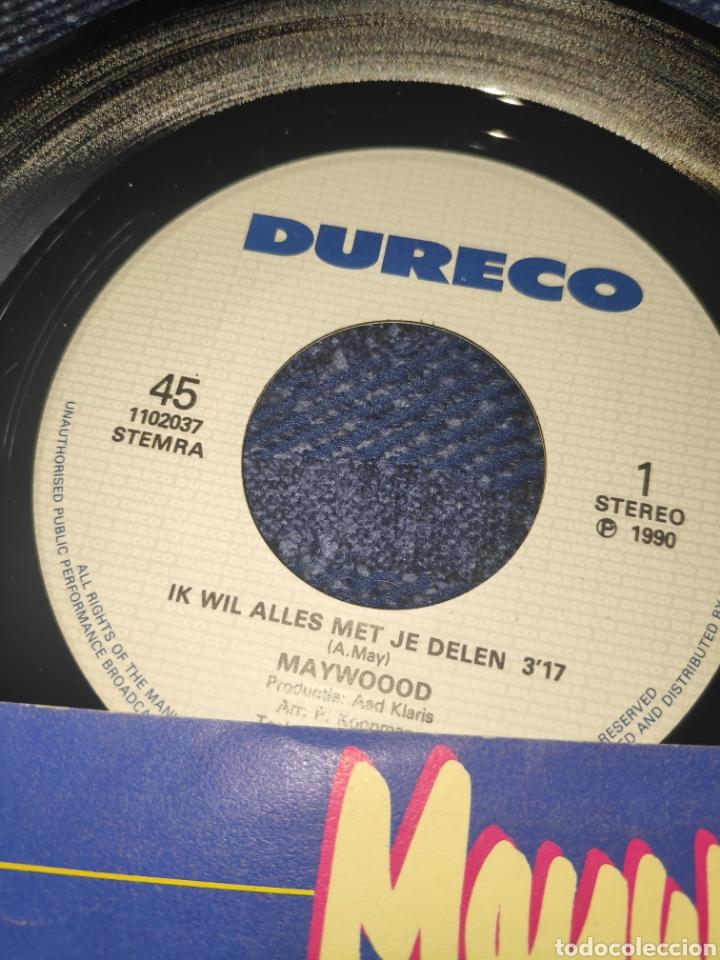 Discos de vinilo: Single vinilo Eurovision 90 - Maywood - It wil Alles met je delen - Foto 3 - 257411735