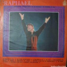 Discos de vinilo: RAPHAEL LP SELLO FUENTES-HISPAVOX EDITADO EN COLOMBIA DE LA PELÍCULA AL PONERSE EL SOL..... Lote 257412180