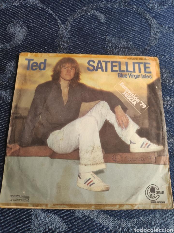 Discos de vinilo: Single vinilo Eurovision 79 España - Ted - Satellite - Versión en inglés - Foto 2 - 257413280