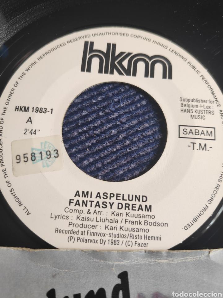Discos de vinilo: Single vinilo Eurovision 83 - Ami Aspelund - Fantasy Dream + Fantasiaa - Foto 2 - 257415495