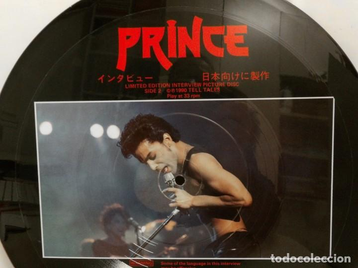 Discos de vinilo: PRINCE ---PICTURE DISC -UK 1990--MADE IN ENGLAND--MADE FOR JAPAN TTS1021-- - Foto 5 - 257418250