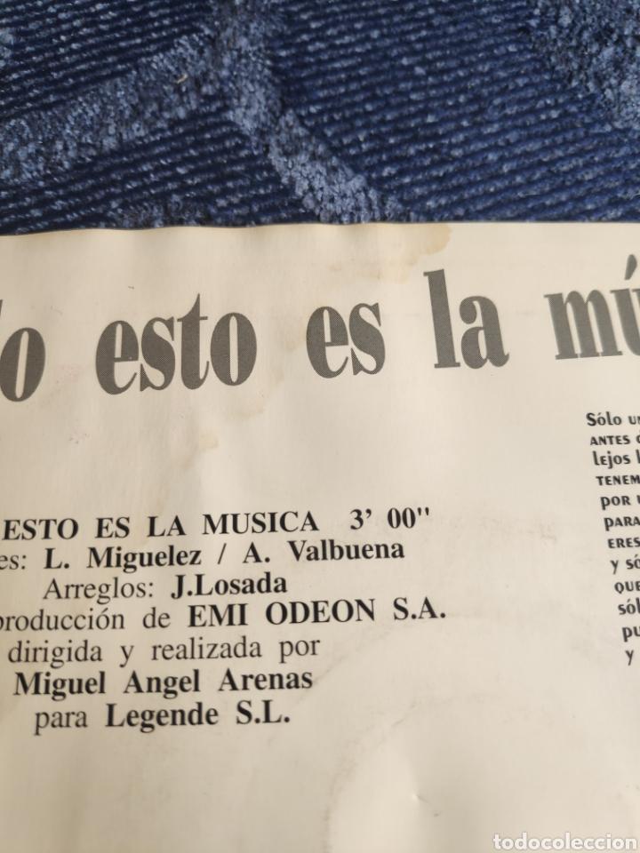 Discos de vinilo: Single vinilo promo Eurovision 92- Serafin Zubiri - Todo esto es la música - Doble cara A - Foto 5 - 257418865