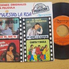 Discos de vinilo: SU MAJESTAD LA RISA. Lote 257421750