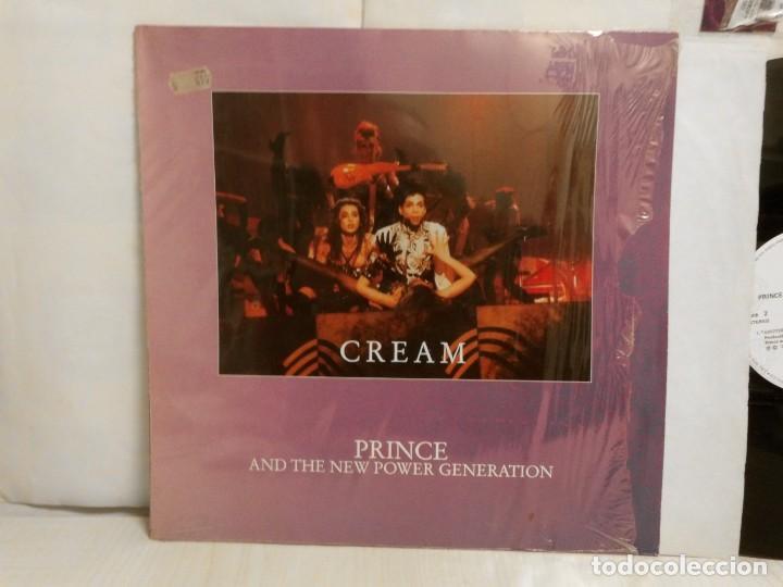 Discos de vinilo: PRINCE- CREAM -AND THE REVOLUTION- 1985-WB- INTERNACIONAL SPAIN- - Foto 2 - 257426170