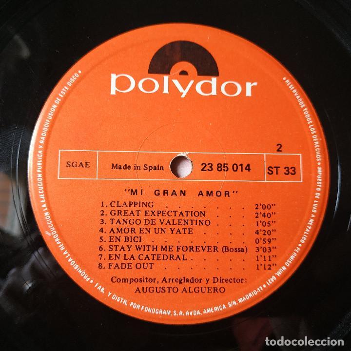 Discos de vinilo: AUGUSTO ALGUERO - MI GRAN AMOR - BANDA SONORA ORIGINAL DEL FILM 100.000 LADRONES - LP POLYDOR 1971 - Foto 6 - 257429025