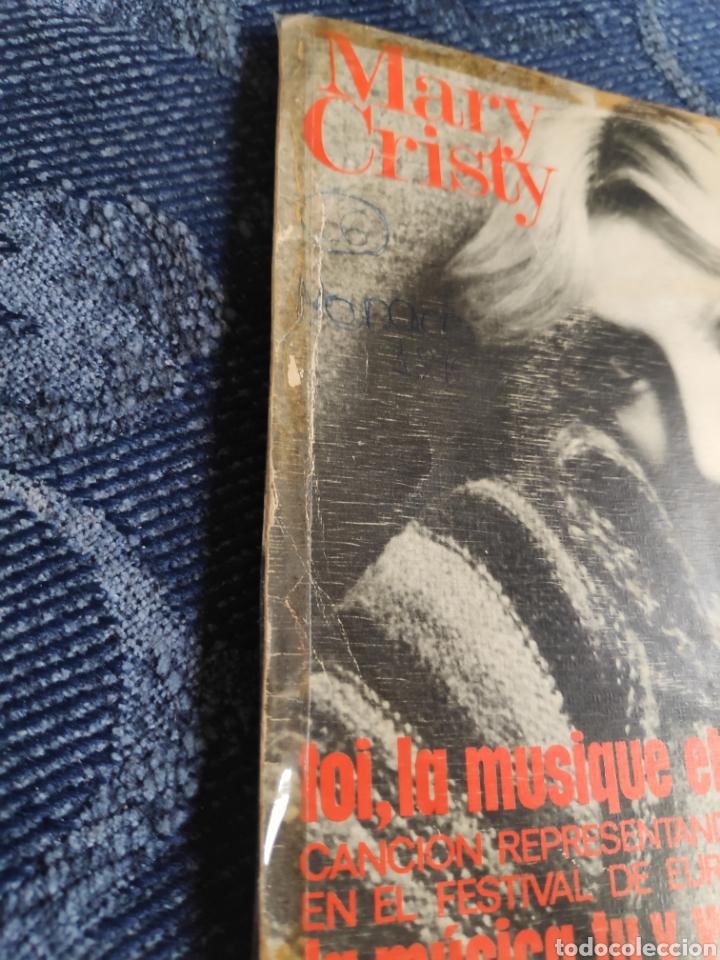 Discos de vinilo: Single vinilo español Eurovision 76 - Mary Cristy - La música tu y yo + Toi, la musique et moi - Foto 4 - 257433980
