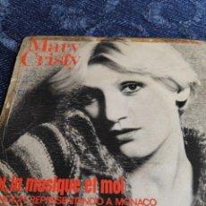 Discos de vinilo: SINGLE VINILO ESPAÑOL EUROVISION 76 - MARY CRISTY - LA MÚSICA TU Y YO + TOI, LA MUSIQUE ET MOI. Lote 257433980