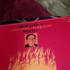 Discos de vinilo: VINILO DE SERRAT, DEDICADO A ANTONIO MACHADO, A ESTRENAR. Lote 257450340