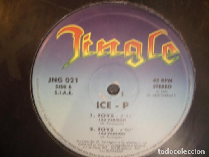ICE-P- TOYS. MAXISINGLE. (Música - Discos de Vinilo - Maxi Singles - Rap / Hip Hop)