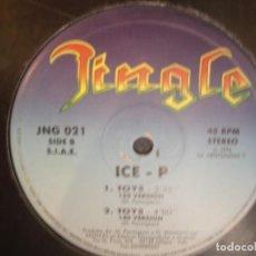 Discos de vinilo: ICE-P- TOYS. MAXISINGLE.. Lote 257461305
