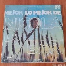 Discos de vinilo: VINILO 2 LP NICOLA DI BARI . VER FOTOS.. Lote 257465710