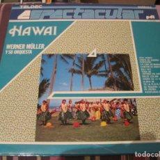 Discos de vinilo: LP WERNER MULLER ORQUESTA HAWAII TELDEC ESPECTACULAR. Lote 257479390
