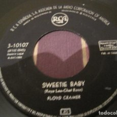 Discos de vinilo: SINGLE FLOYD CRAMER RCA 10107 SPAIN 1961 LAST DATE/SWEETIE BABY. Lote 257483305