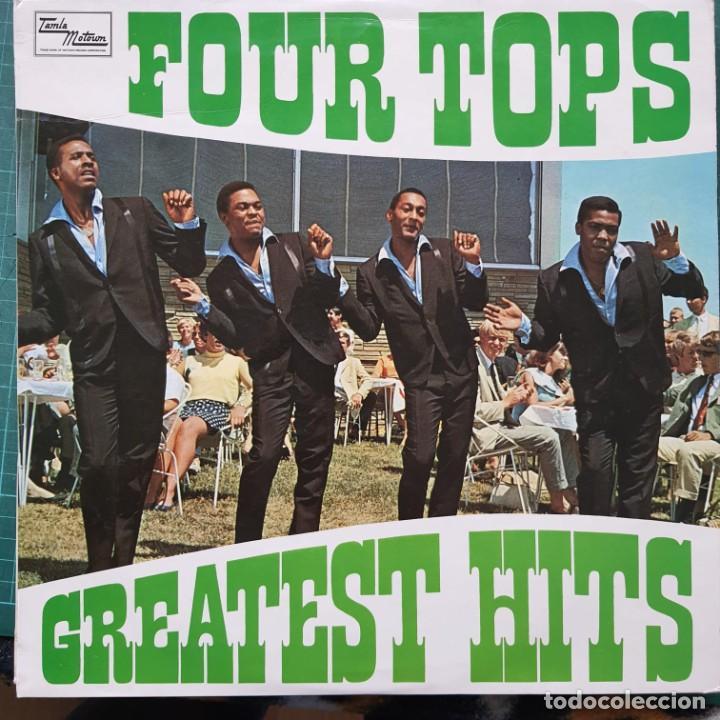 FOUR TOPS - GREATEST HITS (LP, COMP) (1968 / UK) (Música - Discos de Vinilo - Maxi Singles - Funk, Soul y Black Music)