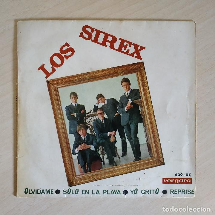 LOS SIREX - OLVIDAME / SOLO EN LA PLAYA / YO GRITO / REPRISE - RARO EP VERGARA DEL AÑO 1966 (Música - Discos de Vinilo - EPs - Grupos Españoles 50 y 60)