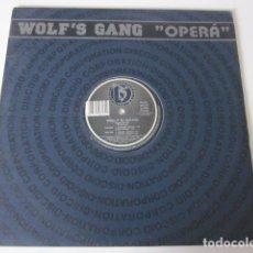 "Discos de vinilo: WOLF'S GANG - OPERÁ (12""). Lote 257489335"