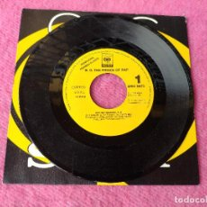 Discos de vinilo: SINGLE B.G. THE PRINCE OF RAP - GIVE ME THE MUSIC - ARIC 0073 - SPAIN PRESS PROMO (-/NM) 1SIDED. Lote 257484515