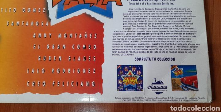 Discos de vinilo: Vinilo LP ESTRELLAS DE LA SALSA. Ver fotos. - Foto 3 - 257495645