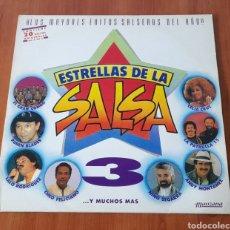 Discos de vinilo: VINILO LP ESTRELLAS DE LA SALSA. VER FOTOS.. Lote 257495645