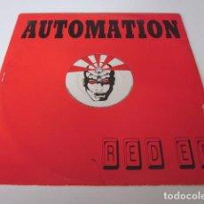 "Discos de vinilo: AUTOMATION - RED E.P. (12"", EP). Lote 257496720"