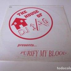 """Discos de vinilo: DJ IAO - THE HOUSE OF DJ IAO (12""""). Lote 257500795"""