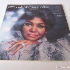 Discos de vinilo: NANCY WILSON - LUSH LIFE (LP). Lote 257501880