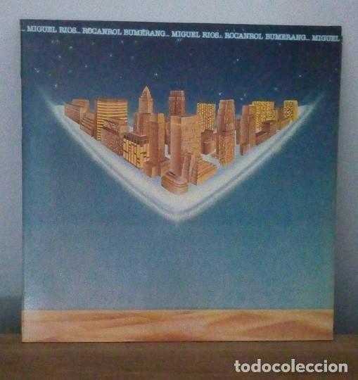 MIGUEL RIOS - ROCANROL BUMERANG - LP - 1980 (Música - Discos - LP Vinilo - Solistas Españoles de los 70 a la actualidad)