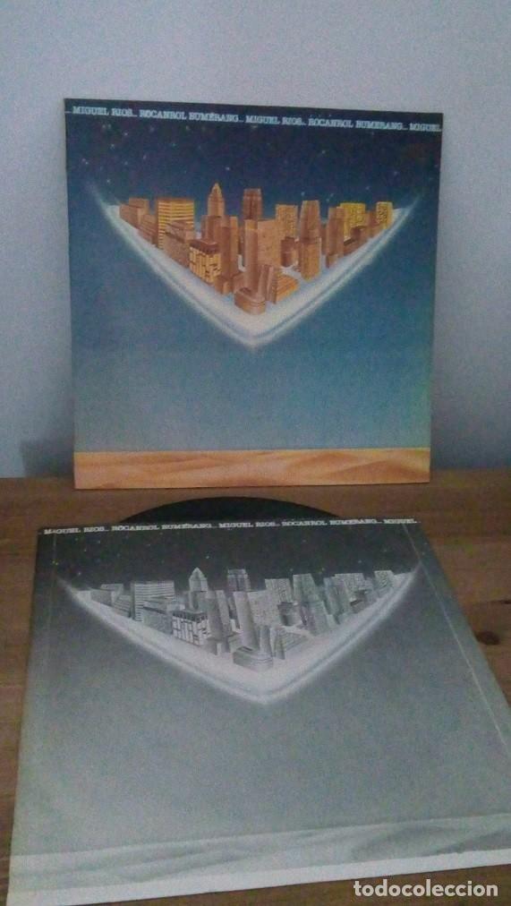 Discos de vinilo: MIGUEL RIOS - ROCANROL BUMERANG - LP - 1980 - Foto 3 - 257502080