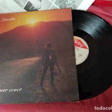 Disques de vinyle: LOS SECRETOS PRIMER CRUCE LP TWINS T 2513 NL 1986 CON ENCARTE. Lote 257508440