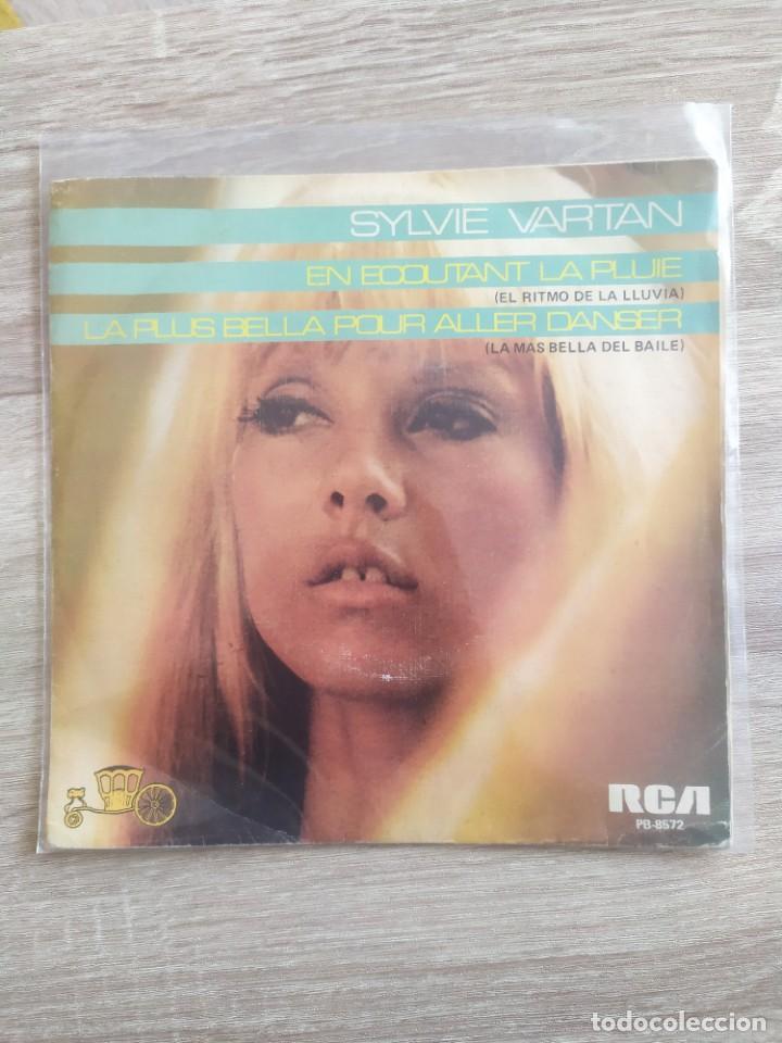 SYLVIE VARTAN - EN ECOUTANT LA PLUIE (Música - Discos - Singles Vinilo - Canción Francesa e Italiana)