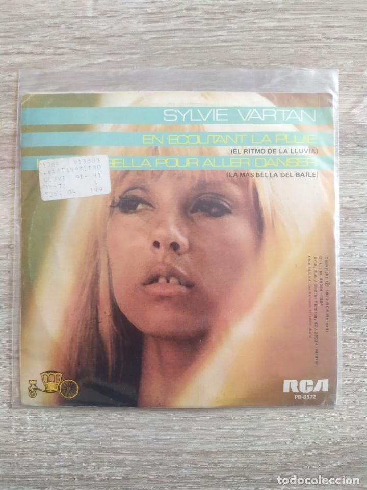 Discos de vinilo: Sylvie Vartan - en ecoutant la pluie - Foto 2 - 257509120