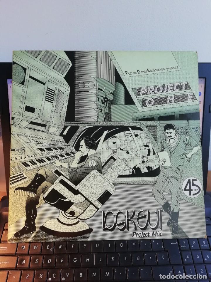 RAR MAXI 12. LOOK OUT. PROJECT ONE. MADE IN GERMANY (Música - Discos de Vinilo - Maxi Singles - Pop - Rock - New Wave Internacional de los 80)