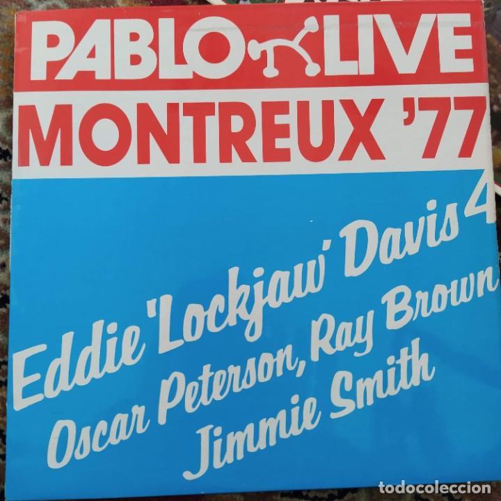 EDDIE 'LOCKJAW' DAVIS 4 - MONTREUX '77 (LP, ALBUM) (1977/UK) (Música - Discos - LP Vinilo - Jazz, Jazz-Rock, Blues y R&B)