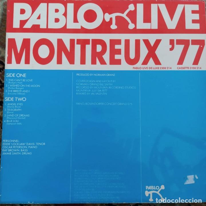 Discos de vinilo: Eddie Lockjaw Davis 4 - Montreux 77 (LP, Album) (1977/UK) - Foto 2 - 257516900