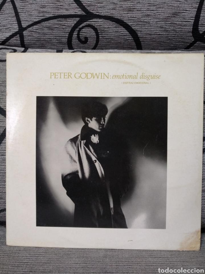 PETER GODWIN - EMOCIONAL DISGUISE (Música - Discos de Vinilo - Maxi Singles - Pop - Rock - New Wave Internacional de los 80)